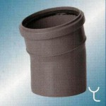 Отвод полипропилен 110x15