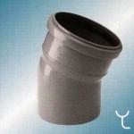 Отвод полипропилен 110x22