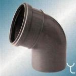 Отвод полипропилен  110x67